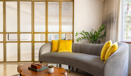 Mumbai Houzz: This 3-BHK Is a Stylish Lesson in Camouflaging