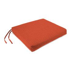 Jordan Manufacturing Sunbrella Seat Cushion, Echo Sangria