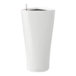 Delta Self Watering Planter, 40x75 CM, White