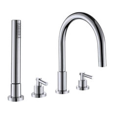 Contemporary Jasmin Bathtub Faucet