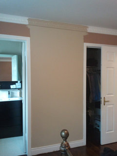 Can I Paint Crown Moulding Same As Wall