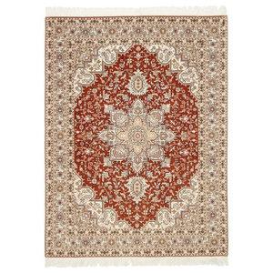 Tabriz 50Raj Oriental Rug, Hand-Knotted, 204x152 cm