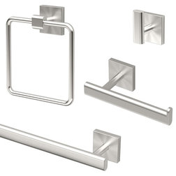 Contemporary Bathroom Accessory Sets by Bath1