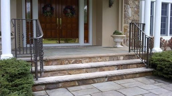 Custom Hand Forged Aluminum Railings