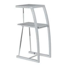 Asta Solid Wood Plant Stand, Phone Stand, Samba, Gray