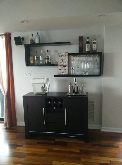 Suggestions To Arrange Decoration My Floating Bar Shelves