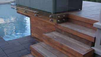 Contemporary ipe deck / patio en ipe contemporain