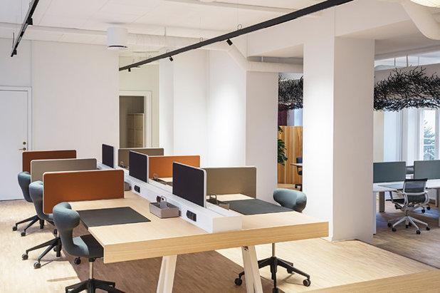 Indretningstips til skrivbordet/hjemmekontoret