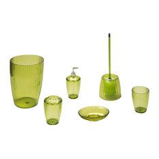 Green Bathroom Accessory Sets | Houzz