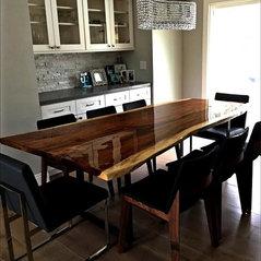 Costa Mesa Ca Parota Edge Grain Dining TableCosta Mesa Dining Table   creditrestore us. Costa Mesa Dining Room Set. Home Design Ideas