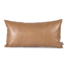 Howard Elliott Kidney Transitional Polyurethane Pillow in Avanti Bronze