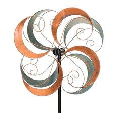 "Regal 26"" Rotating Wind Spinner, Swirls"