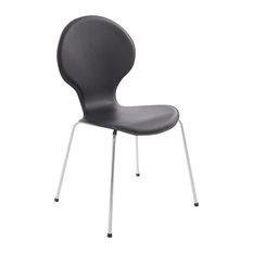 Vlind Dining Chair, Black