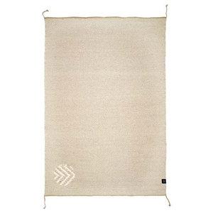 Classic Collection Herringbone Area Rug, Natural Grey, 230x170 cm