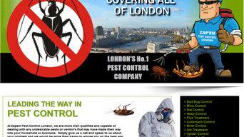 1 Project for Zapem Pest Control