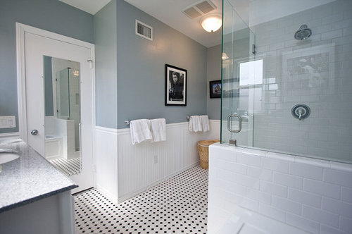 Wainscoting For Bathroom Material