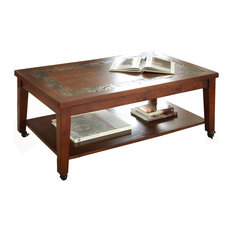 Davenport Cocktail Table With Locking Casters