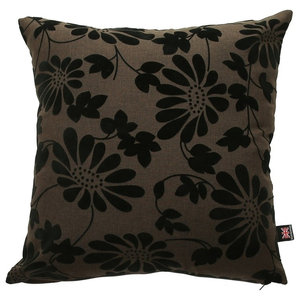 Fiona Scatter Cushion, Brown, 55x55 Cm