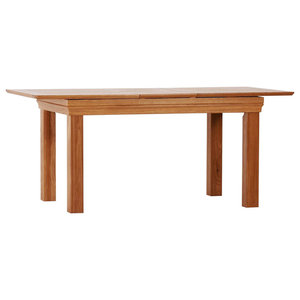 French Oak 1.4-1.8 m Butterfly Extension Dining Table