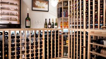 Moldow design wine racks