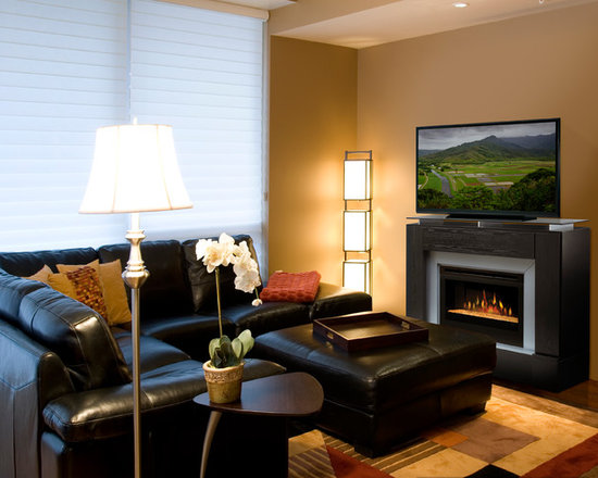 Electric Fireplace TV Media Consoles