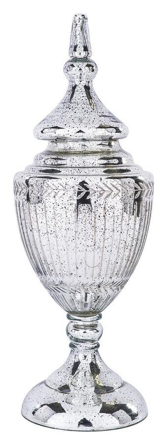MA406-60-14967CH Silver Urn