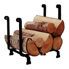 Enclume Handcrafted Hearth Fireplace Log Rack, Black