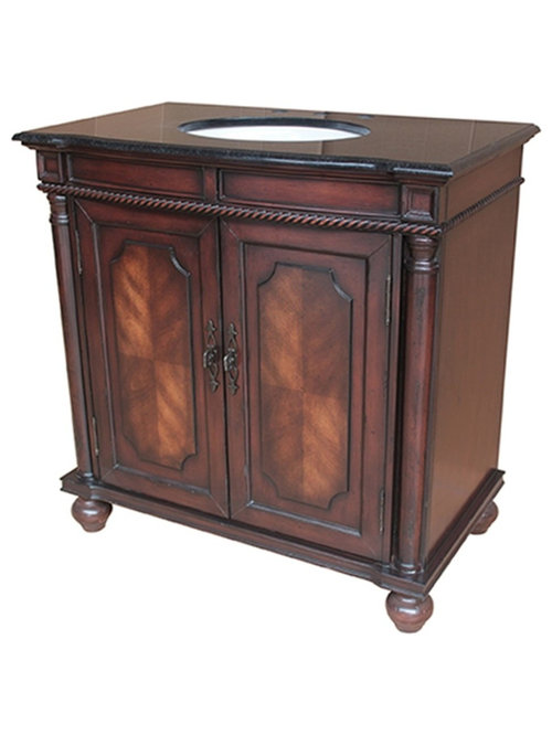 bathroom vanity dark cherry brown finish bathroom vanities and sink