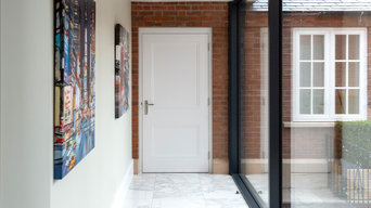 Knightsbridge 2 Panel Smooth White RAL9010 Doors Thornhill House
