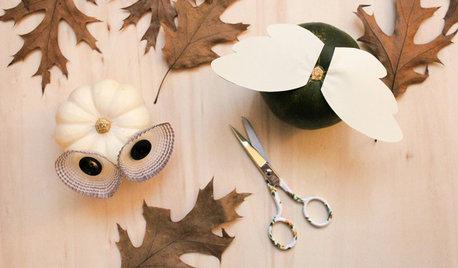 Idea Décor: 6 Modi Stilosi di Usare le Zucche Ornamentali