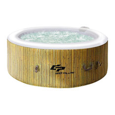Imtinanz - 4-Persons Portable Heated Bubble Massage Spa - Hot Tubs