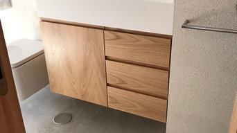 Proyecto al completo en madera