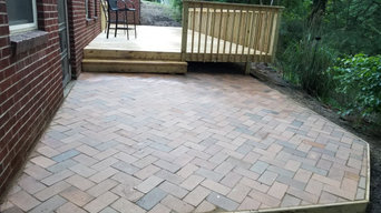 New Deck Build with Pavers