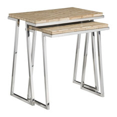 Thatch Nesting Tables