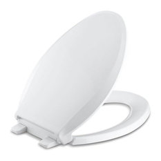 Kohler Cachet Quiet-Close with Grip-Tight Elongated Toilet Seat, White