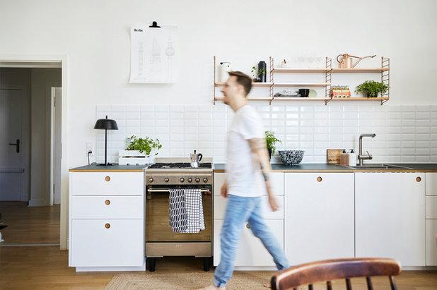 eine ikea k che aufgem belt mit coolen designfronten. Black Bedroom Furniture Sets. Home Design Ideas