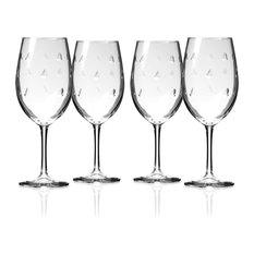 Sailing All Purpose Wine Glass, 18 Oz., Set of 4 Wine Glasses