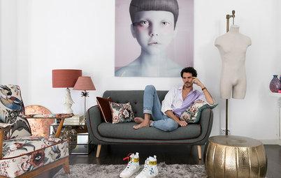 Visitamos la casa del diseñador de moda Juan Avellaneda
