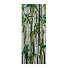 Wenko - Decorative Bamboo Curtain, Bamboo - Shower Curtains