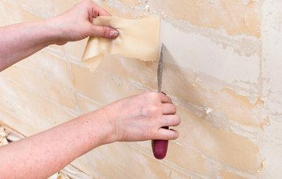 Alte Tapete entfernen – die besten Methoden