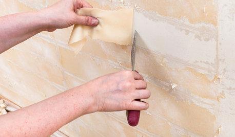 DIY: Alte Tapete entfernen – die besten Methoden