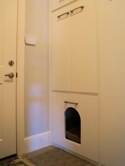Cat Litter Area | Houzz