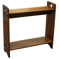 Mission / Arts and Crafts Book and Magazine Stand, Walnut (W1)