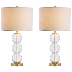 Contemporary Lamp Sets by Jonathan Y Designs, INC