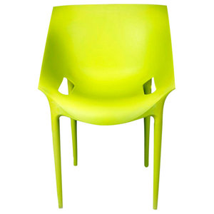 Riddi Stacking Chair, Lime Green