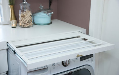 The Hardworking Laundry: Make Room for Hanging the Wash