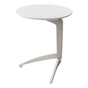 Foldme Folding Table, White, Small
