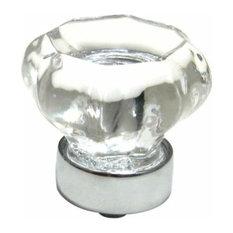 richelieu hardware richelieu classic metal u0026 crystal knob 33mm chrome cabinet