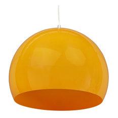 Kypara Pendant Lamp, Orange