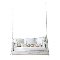 "Modern Swing Bed, 33""x70"", Front Porch, Rope Hanging Kit"